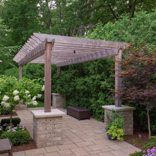 Traditional Patio by Gelderman Landscape Services