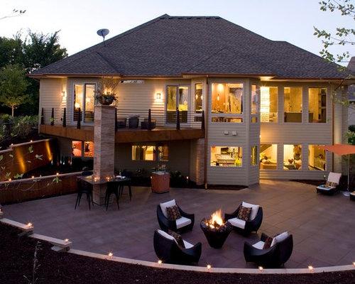 Backyard Entertainment Area Home Design Ideas Renovations