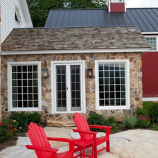 Traditional Patio by Yankee Barn Homes