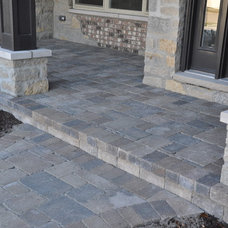 Traditional Patio by DJK Custom Homes