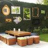 Skapa rymd i trädgården med speglar – inspireras av 8 roliga idéer