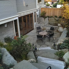 Craftsman Patio by Castanes Architects PS