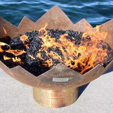 Modern Fire Pits by John T. Unger, LLC