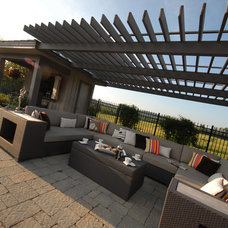 Contemporary Patio by The Landmark Group