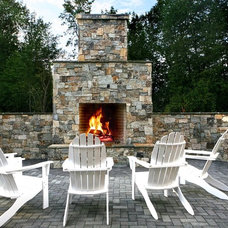 Traditional Patio by Cyndi Parker Interiors