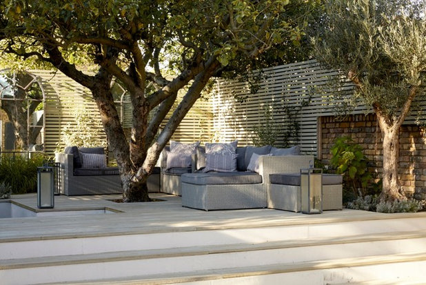 Contemporary Patio by EHG Home LTD