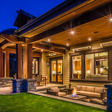 Contemporary Patio by The Interior Design Group