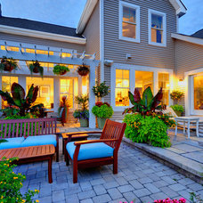 Traditional Patio by Schell Brothers