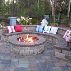 Eclectic Patio by COASTROAD Hearth & Patio