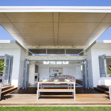 Modern Patio by Creative Space Architectural Design