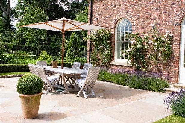 American Traditional Patio by Barnes Walker Ltd - Landscape Architects