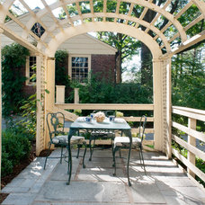 Traditional Patio by Melissa MacDonald, Landscape Architect
