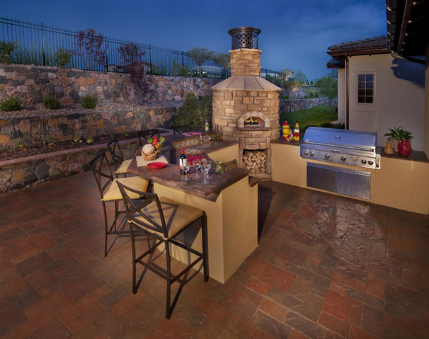 Mediterranean Patio by Celebrity Communities