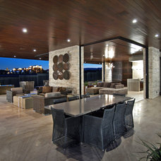 Contemporary Patio by RIVER NORTH