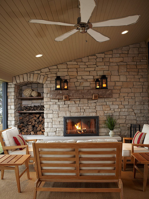 Rustic Fireplace Mantel Houzz
