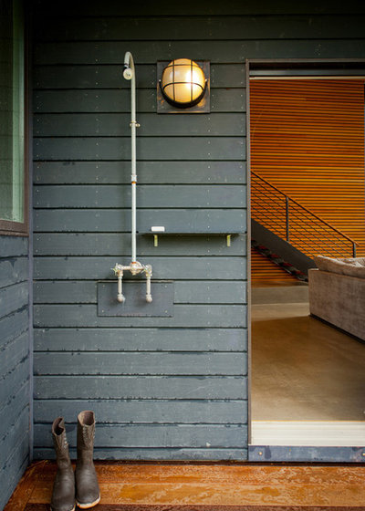 Contemporary Patio by Cultivation Design