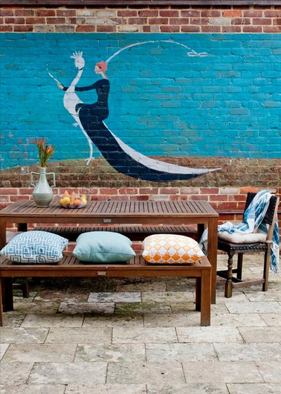 Eclectic Patio by Etica Studio
