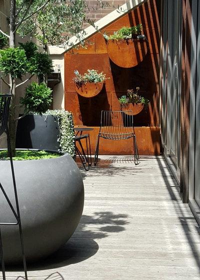 Contemporáneo Patio by inovasis design
