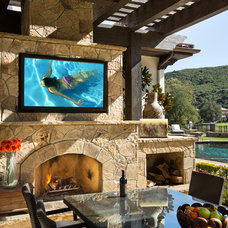 Traditional Patio by Bliss Home Theaters & Automation, Inc