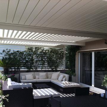 The Solisysteme Bioclimatic Pergola- Residential