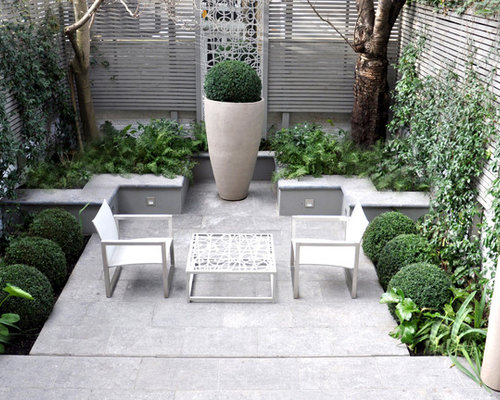 Modern patio design ideas remodels photos houzz for Patios minimalistas