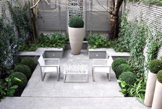 Modern Patio by OneAbode Landscape Design