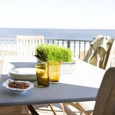 Beach Style Patio by Liz Williams Interiors