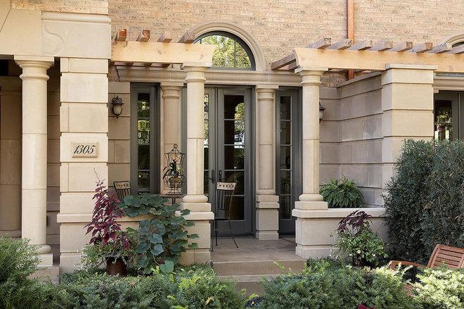 Contemporary Patio by Erotas Building Corporation
