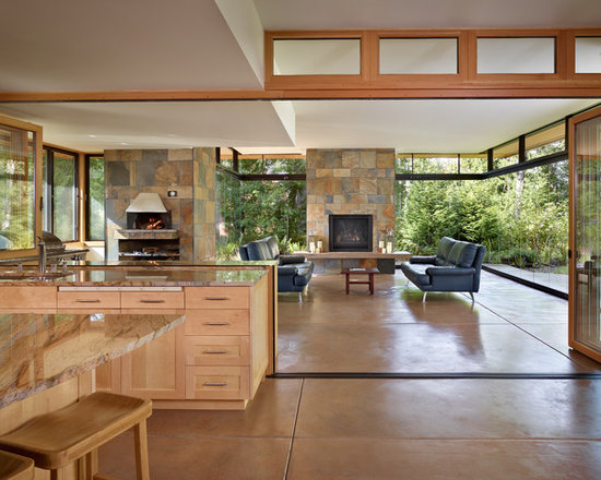 covered outdoor living area | houzz