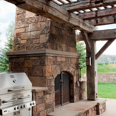Traditional Patio by OSM Wyoming, Inc.