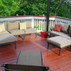Traditional Patio by Thrifty Decor Chick