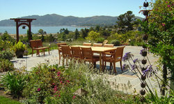 Tiburon home with Asian influence
