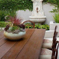 Traditional Patio by Kathy Bloodworth Interior Design