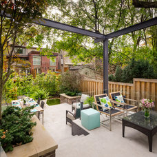 Contemporary Patio by Dayspring Landscape Design