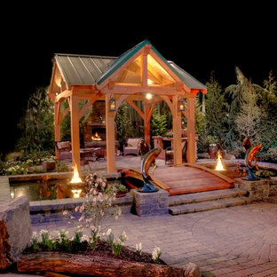 Inspiration For A Timeless Patio Remodel In Portland. Save Photo.  Timberline Pavilion Kit