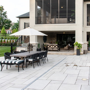 Merveilleux 75 Most Popular Traditional White Patio Design Ideas For ...