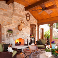 Traditional Patio by Bruce Kading Interior Design