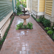 Mediterranean Patio by Ravenscourt Landscaping and Design LLC