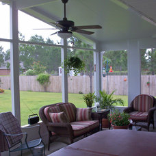 Traditional Patio by Titan Sunrooms