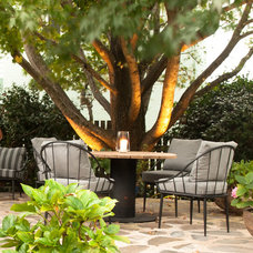 Traditional Patio by Claire Stevens Interior Design