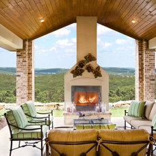Traditional Patio by Sitterle Homes