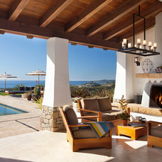 Mediterranean Patio by AB design studio inc.