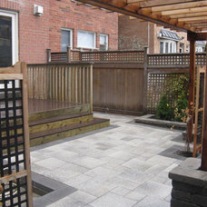 Contemporary Patio by Paradise views landscaping