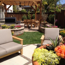 Contemporary Patio by Total Outdoors