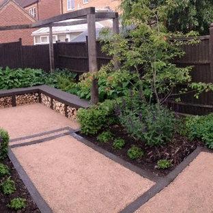Esempio di un patio o portico tradizionale