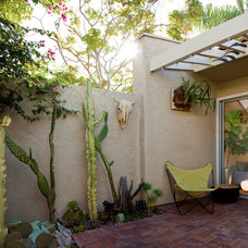 Rustic Patio by Jon+Aud Design
