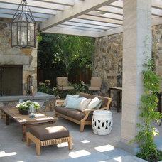Mediterranean Patio by Suzman Design Associates