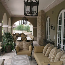 Traditional Patio by Greg Trutza