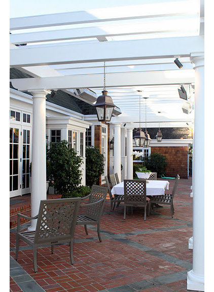 Traditional Patio by Young and Borlik Architects, inc.
