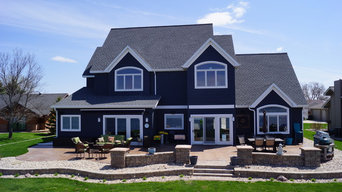 Traditional Lake Front Home